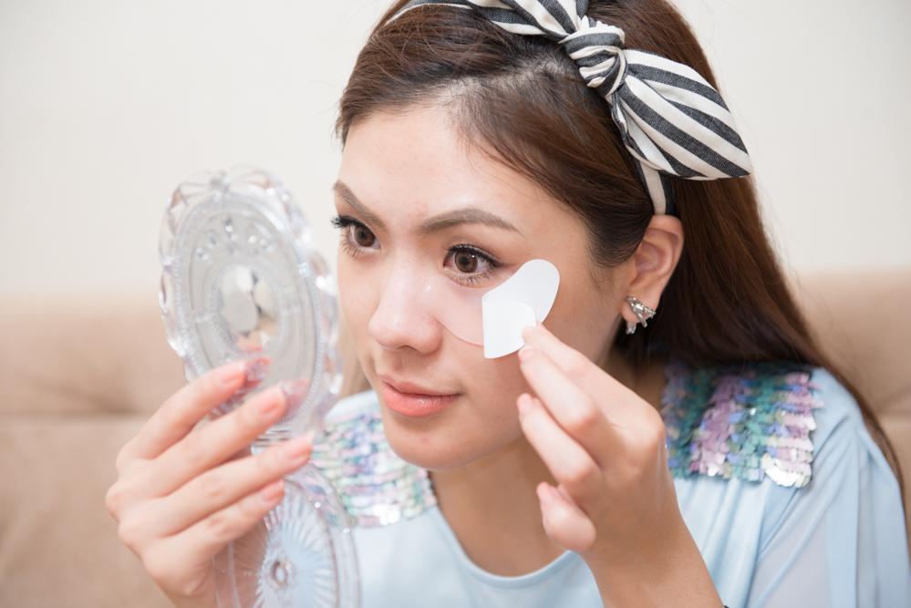 review รีวิว Faith in face Mask มาสก์ hydro gel ไฮโดรเจล icepadie ใต้ตา eye