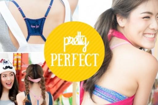 แฟชั่นเซ็ตสดใส โชว์ลายชุดชั้นในสุดคิ้วท์ Sabina Pretty Perfect Let's Play Twin Twin