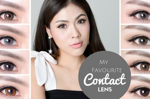 Favourite Contact Lens รีวิวคอนแทคเลนส์คู่โปรดที่ใส่ประจำ | icepadie