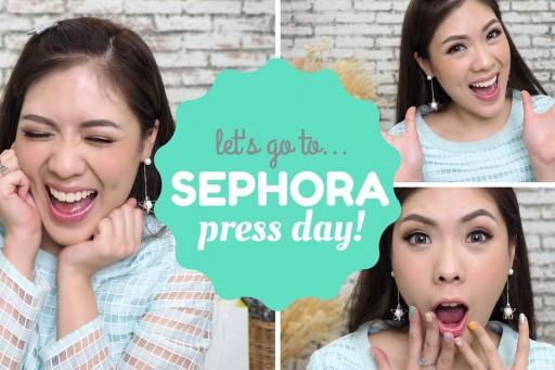 พาดี้ขี้เห่อ ตะลุย sephora press day SS16 + GIVEAWAY!!! | icepadie