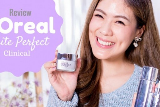 REVIEW L'Oreal white perfect clinical ผิวขาวใส ไม่ต้องกลัวหน้าแหก !!!