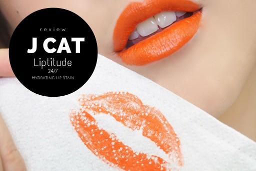 REVIEW ลิปจิ้มจุ่ม J cat Liptitude 5 สีโปรด!