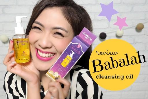 REVIEW babalah cleansing oil ออยล์ล้างหน้าของบาบาล่า | icepadie
