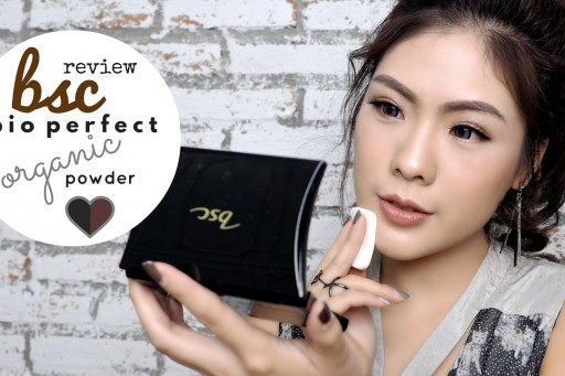 REVIEW แป้งแคชชชเมียยยยร์ BSC bio perfect organic powder foundation | icepadie