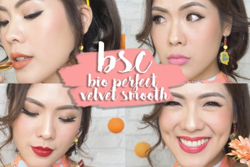 REVIEW & SWATCH ลิปสติก 10 สี BSC bio perfect velvet smooth | icepadie