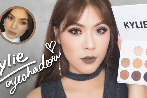 HOW TO แต่งหน้าสายฝ. & REVIEW kylie the bronze palette