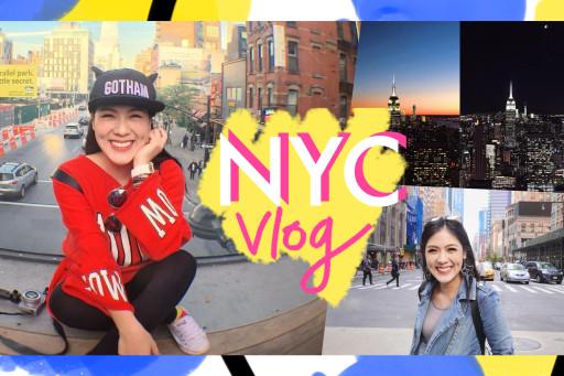 VLOG เที่ยวเมกาาาากะพาดี้ ตอน แรกพบสบตามหานครนิวยอร์ก NYC !!!