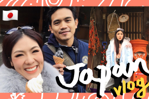 VLOG เที่ยวญี่ปุ่นกะคุณแฟน feat. พี่ลูกกอล์ฟ english room !!!
