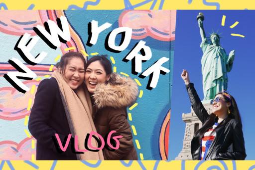 VLOG พาดี้พาเที่ยวเมกาาา NYC เทพีเสรีภาพ และอาหารอร่อย