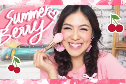 HOW TO summer berry makeup แต่งหน้าโทนชมพูม่วงเบอร์รี่ ตะมุตะมิ