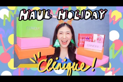 HAUL clinique holiday collection 2018 !!!!