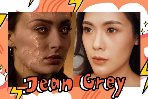 HOW TO แต่งหน้าเป็น Jean Grey จาก X-MEN : DARK PHOENIX